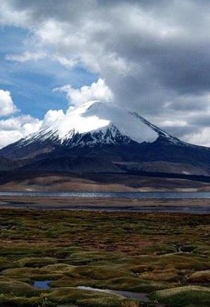 Mt Huaynaputina, Peru